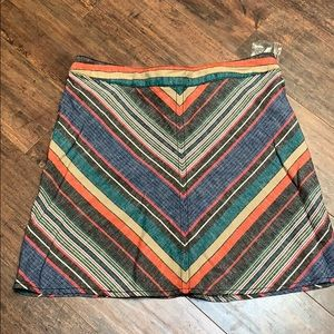 New free people lined skirt 10